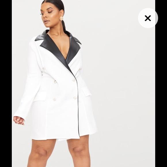Plus Size Blazer Dress